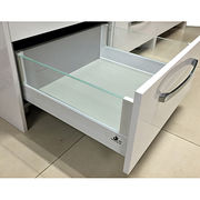 Metal drawer glass slide from China (mainland)