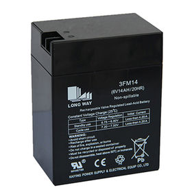 6V/14Ah lead battery from China (mainland)
