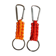 Paracord carabiner key tag from China (mainland)