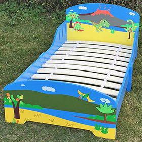 Children wooden cartoon bed designs from China (mainland)