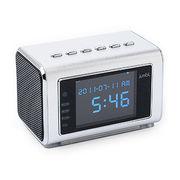 Mini Hidden Spy Camera Radio Clock w/Infrared Night Vision
