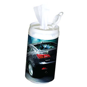 Car wet wipes from China (mainland)