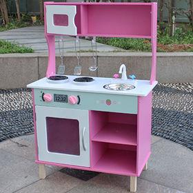 2015 new kid's wooden kitchen toy set