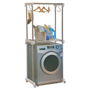 Stainless Steel Washer Shelf Storage Rack from India