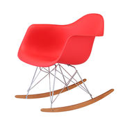 Leisure plastic rocking chair from China (mainland)