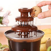 Electric Chocolate Fondue Fountain from India