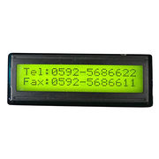 Dot-matrix LCD Module, Display with 16 Characters x 1 Line, STN