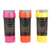 Protein shaker bottle, 500ml, new style, BPA free