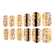 Jeweled nail strips from China (mainland)