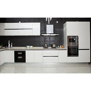 glossy white lacquer kitchen cabinet.The best OEM from China (mainland)