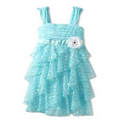 Girl's party dress from China (mainland)