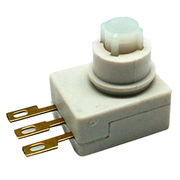 China Pushbutton switch with 10,000 cycles electrical life, 1500V AC 1 minute dielectric strength