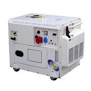 5kw super silent gasoline generator