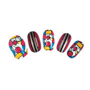 Real polish nail wraps from China (mainland)