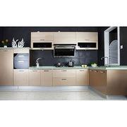 MDF coated lacquer kitchen cabinet. from China (mainland)