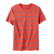 Stripes print T-shirt from China (mainland)