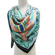 New Fashion Design Big Size Imitation Silk Scarf from China (mainland)