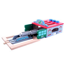 2016 brand new wooden train track toy Manufacturer