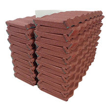 China Stone coated metal roofing tile