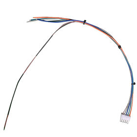 Wire harness with 10-pin connector for PCB and industry machine connection from Suntek Electronics Co.,Ltd