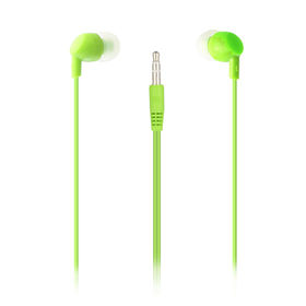 China Promotional Mp3 wired earphone and earphone factory good sound and fashion directy plug or L plug