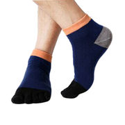 Men's Multicolor Toe Socks from China (mainland)