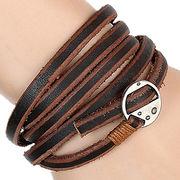 Punk Style Multilayer Leather Bracelets