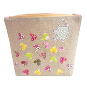 Embroidery cosmetic bag from China (mainland)