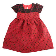 Girl's lace short-sleeved dresses from China (mainland)
