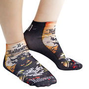 Large Tube Ankle Logo Socks Full Surface from Taiwan