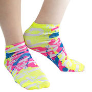 Large Fluorescent Tube Ankle Logo Socks Full Surfa from Taiwan