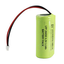 LiFePO4 batteries 26650-3300mAh 3.2V battery cell from China (mainland)