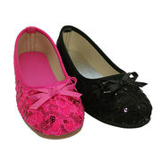 Kids ballerina shoes canvas upper from China (mainland)