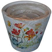 Ceramics cup Planter pot garden box Flower pot gar from China (mainland)