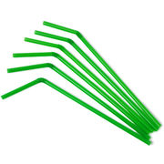 Disposable Plastic Bendy Basic Drinking Straws from China (mainland)