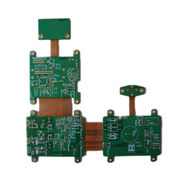 Hard and soft combination multilayer PCB from China (mainland)