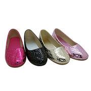 kids ballerina shoes PU upper from China (mainland)