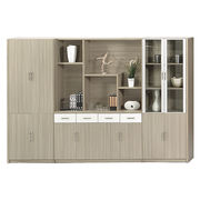 Luxury wooden office file high cabinet from China (mainland)