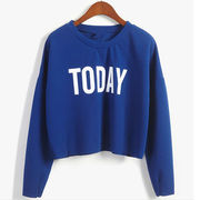 Women's Round-neck Long-sleeved T-shirts from China (mainland)