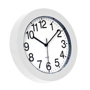 Modern small simple round plastic wall clocks Manufacturer