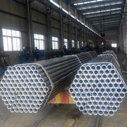 Black ERW steel tube for construction usage