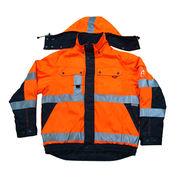 Hi-vis winter jacket from China (mainland)