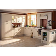 solid wood door panel. nice appearance kitchen cab from China (mainland)