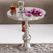 Silver Metal Table from India