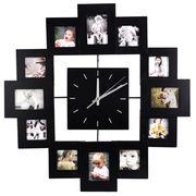 Novelty originality photo frame art wall clocks from China (mainland)
