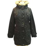 Women's winter padding long sleeved coat from China (mainland)