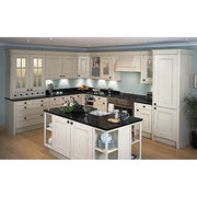 white wood kitchen cabinet. from professional soli from China (mainland)