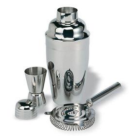 Cocktail shaker set, 304 stainless steel, logo customized