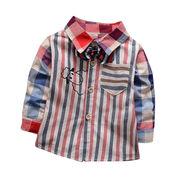 Baby boys' long-sleeved shirt