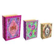 Decorative canvas book box from China (mainland)